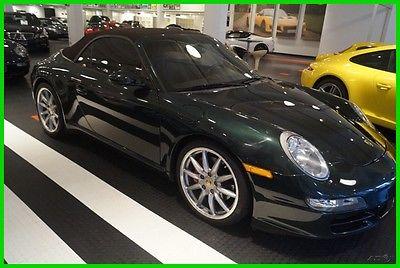 2007 Porsche 911 Carrera S 2007 Carrera S Used 3.8L H6 24V Manual RWD Convertible Bose Premium