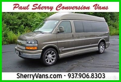 2015 Chevrolet Express Conversion Van 9 Passenger! HDTV & Blu-Ray - Premium Leather Seats - We Finance & Deliver