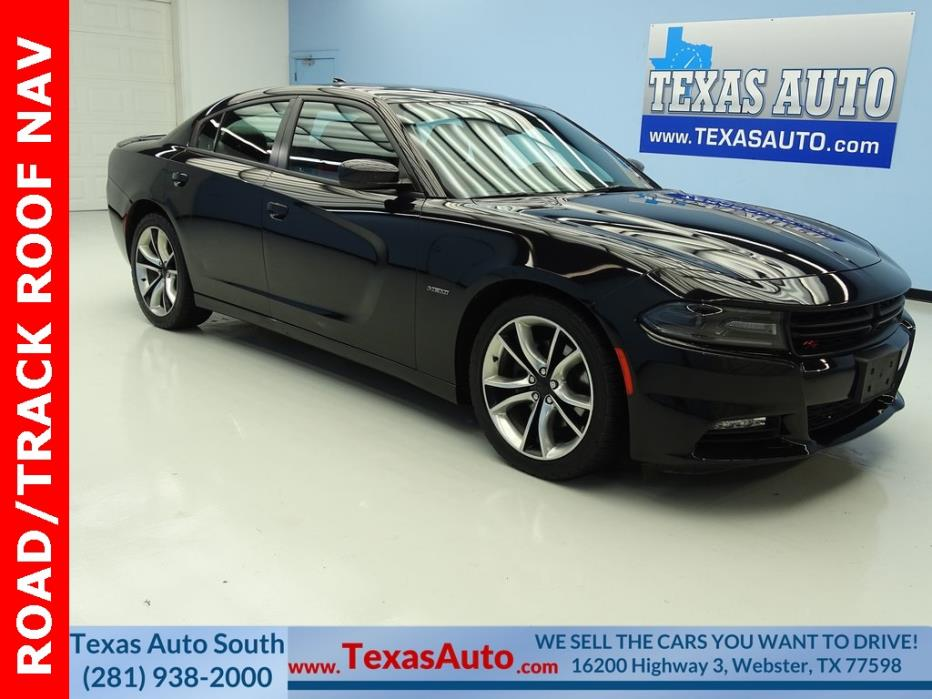 2015 Dodge Charger R/T 2015 Dodge Charger R/T 37299 Miles Pitch Black 4D Sedan HEMI 5.7L V8 Multi Displ