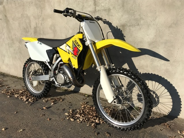 suzuki rm 125 motorcycles for sale in california. Black Bedroom Furniture Sets. Home Design Ideas