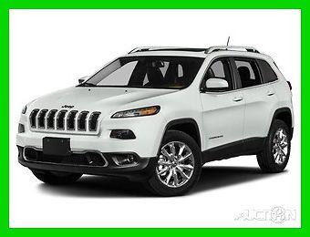 2017 Jeep Cherokee Limited 4x4 2017 Limited 4x4 New 3.2L V6 24V Automatic 4x4 SUV Premium