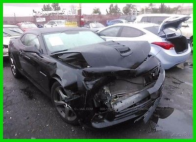 2014 Chevrolet Camaro 1SS 2014 CAMARO SS V8 Rebuilder Repairable Fixer Damaged Wrecked Loaded