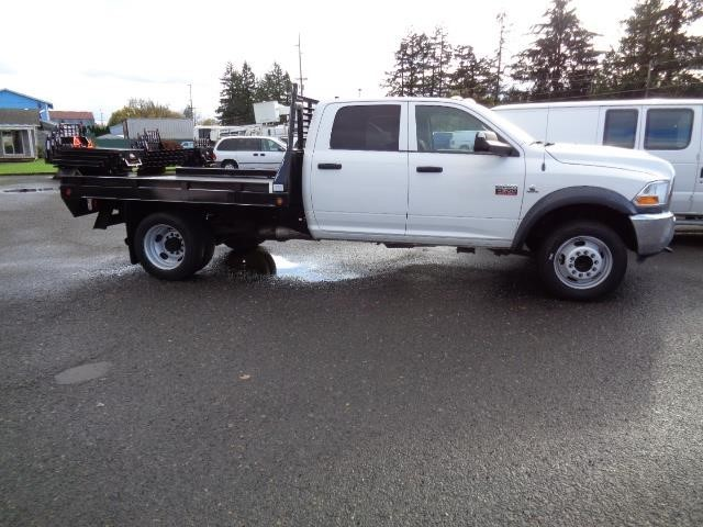 2012 Dodge Ram 4500hd  Flatbed Truck