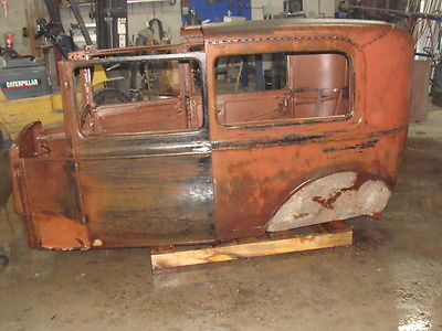 1931 Ford Model A  1931 ford model a Tudor body, fenders, new wood, Title, new running boards,