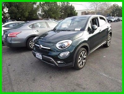 2016 Fiat 500 Trekking 2016 Trekking Fiat Wrecked Rebuilder Repairable Fixer CLEAN TITLE SAVE