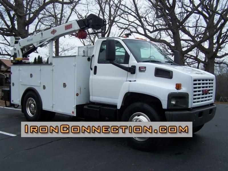 2003 Gmc C7500 Utility Truck - Service Truck