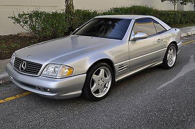 1999 Mercedes-Benz SL-Class Base Convertible 2-Door 1999 Mercedes-Benz SL500 Base Convertible 5.0L**ONLY 41K MILES**