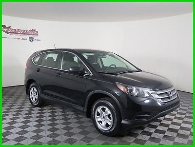 2014 Honda CR-V LX FWD I4 SUV Backup Camera Cloth Seats AUX USB 28435 Miles 2014 Honda CR-V FWD SUV Bluetooth Keyless Entry Automatic Low Price