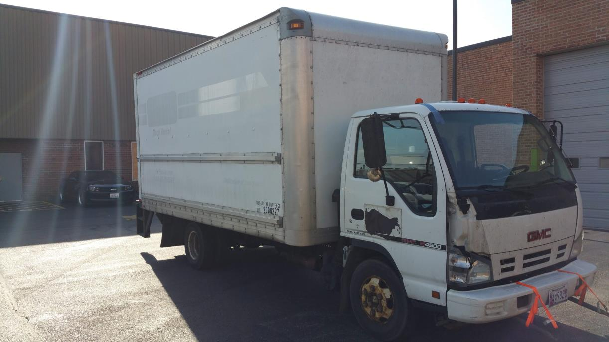 2007 Gmc W4000 Box Truck - Straight Truck