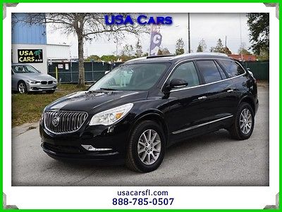 2016 Buick Enclave Leather 2016 buick enclave awd leather w heat pano roof