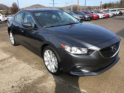 2016 Mazda Mazda6 Touring Sedan 4-Door 2016 MAZDA6 MAZDA 6 TOURING 6 SPEED MANUAL 1 OWNER WARRANTY NON SMOKER