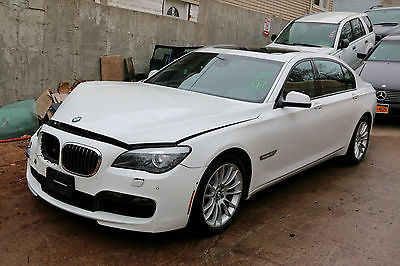 2012 BMW 7-Series Base Sedan 4-Door 2012 BMW 750i xDrive Sedan M Sport Repairable Rebuildable NJ Salvage 54k Miles