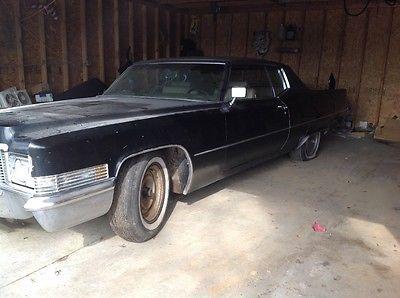 1970 Cadillac DeVille Coupe deville ebay motors 1970 Cadillac Coupe Deville Barn find