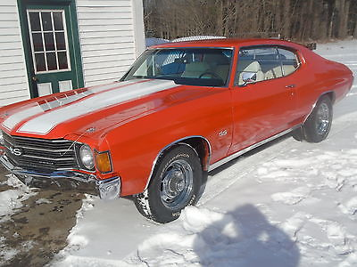 1972 Chevrolet Chevelle SS 1972 CHEVELLE SS 454 AUTOMATIC LOOK-A-LIKE