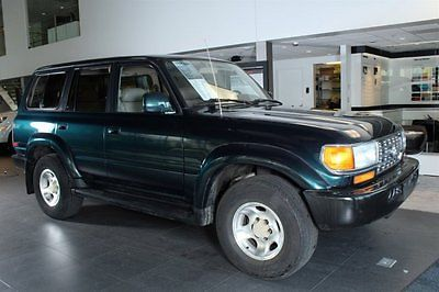 1996 Toyota Land Cruiser Base Sport Utility 4-Door 1996 SUV Used 1fz-fe Automatic 4WD Leather Tan