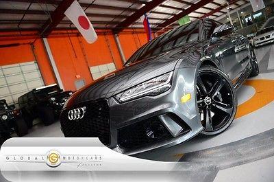 2016 Audi RS7 16 AUDI RS7 QUATTRO PRESTIGE $127MSRP BANG & OLUFSEN DRIVER ASSIST