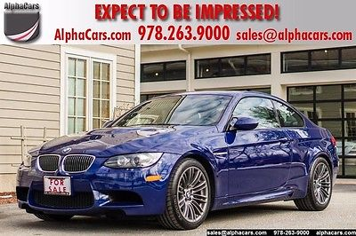 2009 BMW M3 Base Coupe 2-Door Full Service History 1 Owner Pristine Condition Financing & Trades