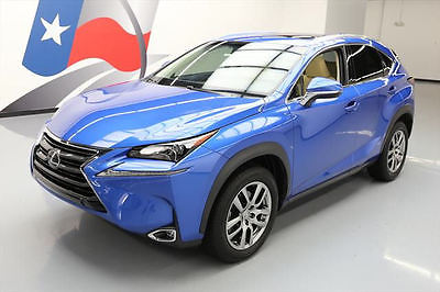 2016 Lexus NX200t Base Sport Utility 4-Door 2016 LEXUS NX200t LUXURY SUNROOF NAV REAR CAM 12K MILES #026133 Texas Direct