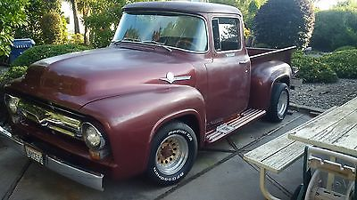 1956 Ford F-100  1956 Ford F100 Frame Off Resto Big Window
