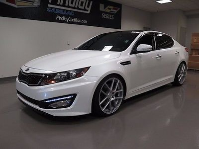 2011 Kia Optima 2.0T SX 2011 KIA OPTIMA 2.0T SX Snow White Pearl 4DR Turbo DOHC 16V I4 Automatic
