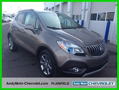 2013 Buick Encore Leather 2013 Leather Used Turbo 1.4L I4 16V Automatic FWD SUV Premium OnStar