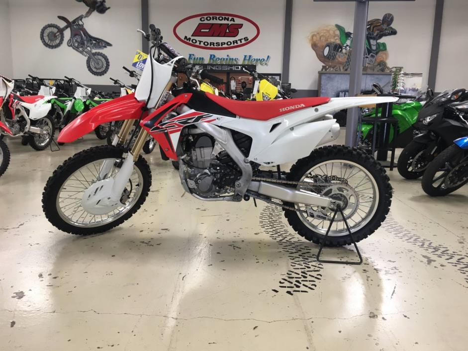 Honda crf 450 motorcycles for sale in corona california for Honda corona ca