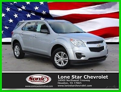 2013 Chevrolet Equinox LS AWD 4dr 2013 LS AWD 4dr Used 2.4L I4 16V Automatic All-wheel Drive SUV OnStar