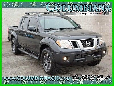 2015 Nissan Frontier 4WD Crew Cab SWB Auto PRO-4X 2015 4WD Crew Cab SWB Auto PRO-4X Used 4L V6 24V Automatic 4WD Pickup Truck