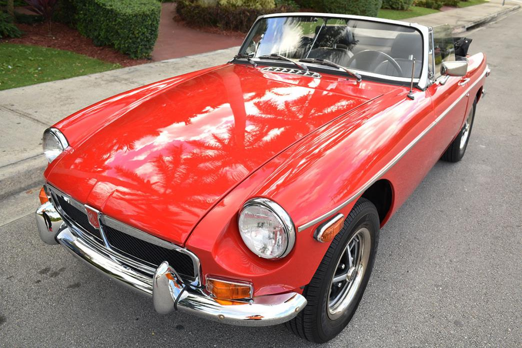 1979 MG MGB SEE VIDEO (inside) 1979 MG MGB roadster convertible similar to MGA GT triumph tr3 fiat classic car