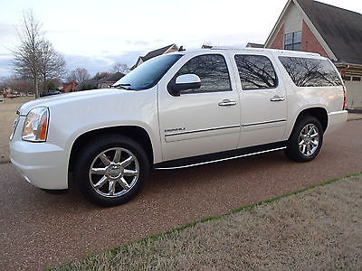 2013 GMC Yukon XL Denali ARKANSAS 1OWNER, NONSMOKER, DENALI, NAV, REAR CAM, 2 TV'S, SUNROOF, GOOD CARFAX!