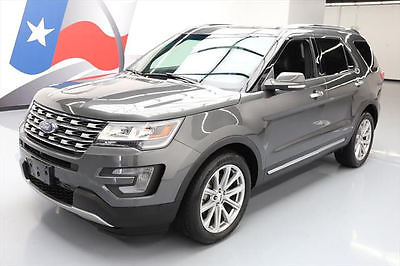 2017 Ford Explorer  2017 FORD EXPLORER LTD 7-PASS VENT LEATHER NAV 20'S 16K #A16943 Texas Direct