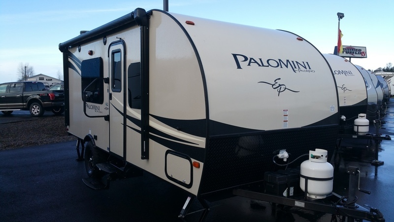 2016 Palomino PaloMini Lite Travel Trailer 180 FB