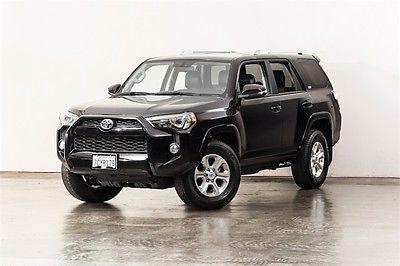 2014 Toyota 4Runner SR5 Premium 2014 Toyota 4Runner SR5 Premium 31734 Miles Black 4D Sport Utility 4.0L V6 SMPI