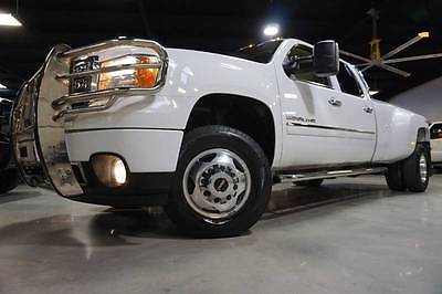 2014 GMC Sierra 3500 Denali 4x4 Duramax Allison Deleted Entertainment 14 K3500HD DENALI 6.6L Duramax Diesel Allison 4X4 DPF-Delete Nav Roof TVs 1owner