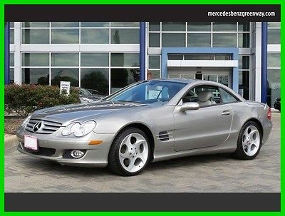 2007 Mercedes-Benz SL-Class 5.5L V8 2007 5.5L V8 Used 5.5L V8 32V Automatic Rear Wheel Drive Convertible Premium