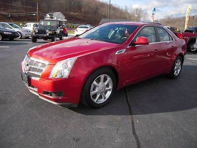 2008 Cadillac CTS 3.6L V6 AWD 4dr Sedan 2008 Cadillac CTS 3.6L V6 AWD 4dr Sedan 3.6L V6 Automatic 6-Speed Burgundy