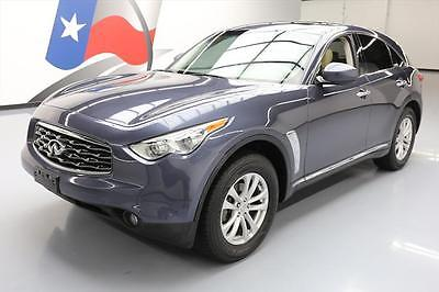 2011 Infiniti FX Base Sport Utility 4-Door 2011 INFINITI FX35 AWD LEATHER SUNROOF REAR CAM 59K MI #731360 Texas Direct Auto