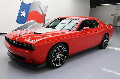 2015 Dodge Challenger Scat Pack Coupe 2-Door 2015 DODGE CHALLENGER R/T SCAT PACK HEMI NAV 20'S 18K #839599 Texas Direct Auto