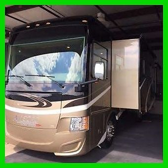 2015 Tiffin Motorhomes Allegro Red 33AA Diesel & 2014 Honda CRV 4 Slides ARIZONA