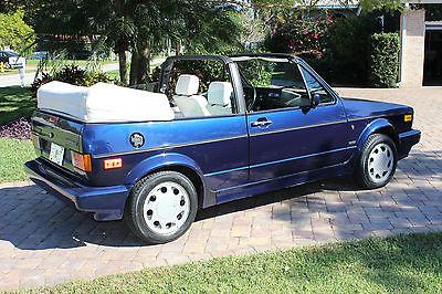 1992 Volkswagen Cabrio  1992 VOLKSWAGEN CABRIOLET WOLFSBURG EDITION TWO OWNER 118K MILES