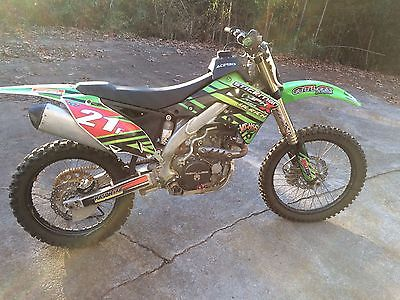 2012 Kawasaki KX  2012 KX450F
