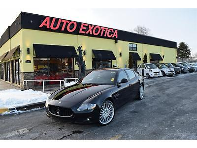 2011 Maserati Quattroporte 2011 Maserati Quattroporte S Automatic BLACK 4.7 SKYHOOK FERRARI FACTORY