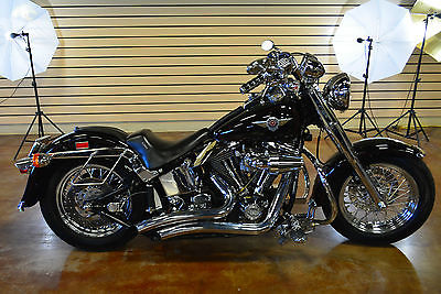 1999 Harley-Davidson Softail 1999 Harley Davidson Softail Fat Boy FLSTF Custom Clean Title Clean Bike