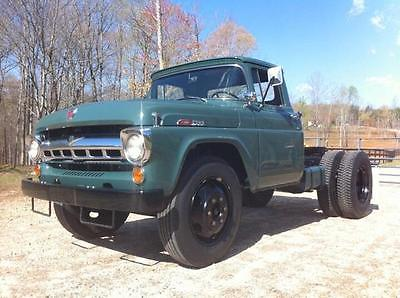 1957 Ford Other Pickups na 1957 Ford F600 NUT AND BOLT RESTORATION BEST IMPECCABLE CONDITION