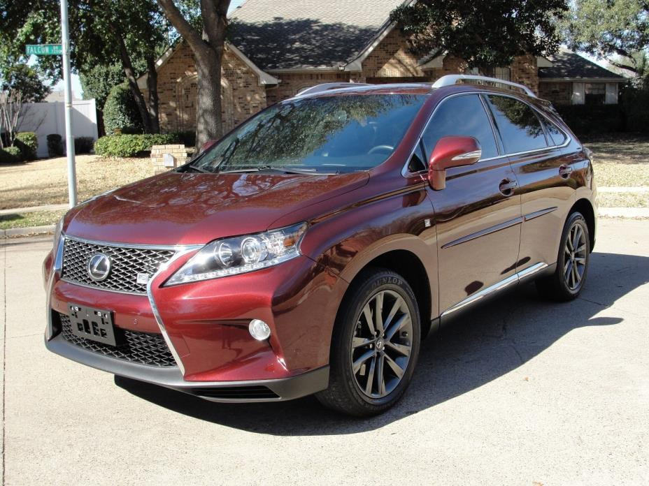 2014 Lexus RX F-Sport 2014 Lexus RX350 AWD F-Sport*1 Owner*28K*Navigation*Sunroof*Climate Seats*More