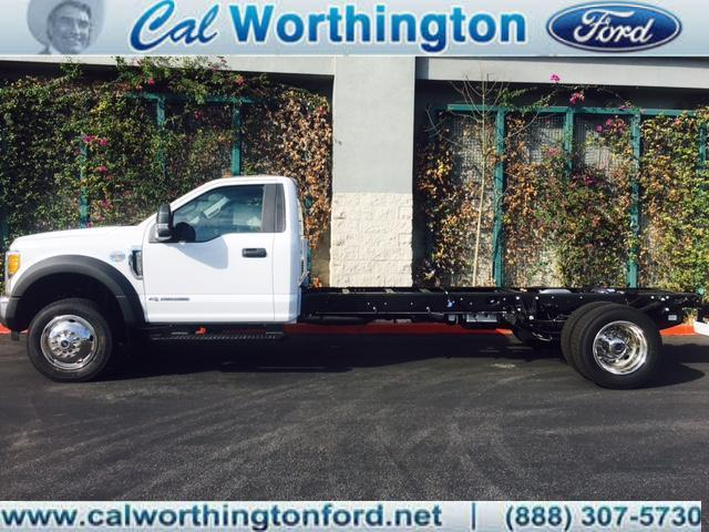 2017 Ford Super Duty F-550 Drw Box Truck - Straight Truck