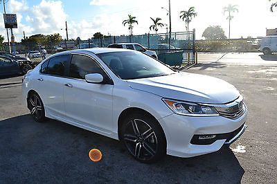 2016 Honda Accord Sport Sedan 4-Door 2016 Honda Accord Sport