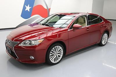 2014 Lexus ES Base Sedan 4-Door 2014 LEXUS ES350 VENT SEATS SUNROOF NAV REAR CAM 35K MI #138741 Texas Direct