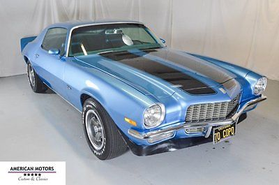 1970 Chevrolet Camaro Z28 COPO 1970 Chevrolet Camaro Z28 COPO Matching Numbers With Build Sheet, Collector Car