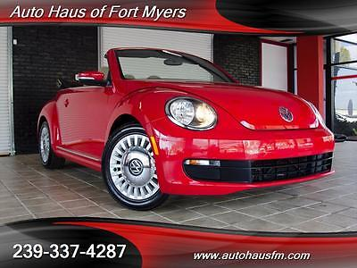 2013 Volkswagen Beetle - Classic Base Convertible 2-Door We Finance & Ship Nationwide Fully Serviced 1 FL Owner Heated Seats Bluetooth